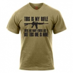 Triko This is my rifle - Coyote Brown